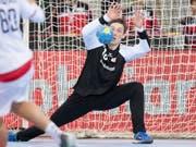 Auch in der Schweizer Nationalmannschaft ein sicherer Wert: Montpelliers Goalie Nikola Portner. (Archivbild)) (Bild: KEYSTONE/ANTHONY ANEX)