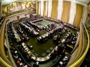 Der Vorsitz der Abrüstungskonferenz mit Sitz in Genf wechselt monatlich. Die Leitung geht nun ausgerechnet an das Bürgerkriegsland Syrien. (Bild: Flickr/United States Mission Geneva)