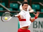 Novak Djokovic kam sicher in die 2. Runde (Bild: KEYSTONE/EPA/IAN LANGSDON)