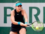 Belinda Bencic nach hartem Kampf in Runde 2 (Bild: KEYSTONE/EPA/CAROLINE BLUMBERG)