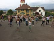 Flashmob in Buttisholz. Bild: PD