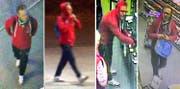 Aufnahmen des Täters, welche mit der Überwachungskamera sichergestellt wurden. Bilder: PD/Luzerner Polizei