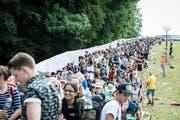 Der Run auf das OpenAir St.Gallen war in den vergangenen Jahren gross. (Bild: Luca Linder/Archiv)