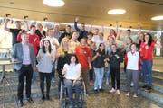 Die im Mai geehrten Thurgauer Sportlerinnen und Sportler erhielten einen Beitrag aus dem Sportfonds. (Bild: PD)