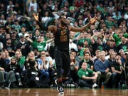 Immer bereit, wenn es ihn braucht: Basketball-Superstar LeBron James steht mit den Cleveland Cavaliers erneut im NBA-Final (Bild: KEYSTONE/AP/ELISE AMENDOLA)