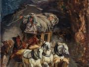 """Rudolf Kollers """"Gotthardpost"""", eine Ikone der Schweizer Kunst, gelangt Mitte Juni in der Berner Galerie Kornfeld zur Auktion. (Bild: Galerie Kornfeld)"""