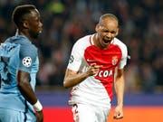 Monacos Fabinho jubelt in Zukunft für Liverpool (Bild: KEYSTONE/EPA/SEBASTIEN NOGIER)