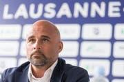 Giorgio Contini wird neuer Trainer von Lausanne-Sport. (KEYSTONE/Cyril Zingaro)