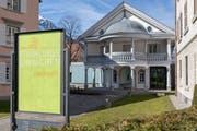 Das Haus für Kunst Uri wird auch im Jahr 2018 das Urner Kunst- und Kulturleben bereichern. (Bild F.X. Brun, Altdorf, 31. März 2018)