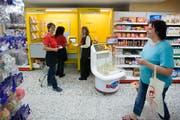 Die Post hat entschieden, ihre Filiale in Wildhaus in den Spar Supermarkt zu verlegen. (Bild: Urs Jaudas)