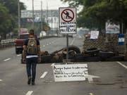 In Nicaragua ist ein Mensch bei einem Angriff von Bewaffneten ums Leben gekommen. (Bild: KEYSTONE/EPA EFE/JORGE TORRES)