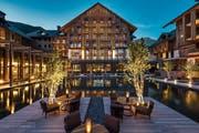 Vier Jahre nach der Eröffnung erreicht das «The Chedi Andermatt» Rang 1 in der Kategorie der besten Ferienhotel der Schweiz. (Bild: PD)