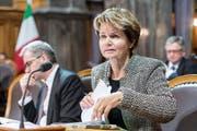 Seit 2011 für den Thurgau im Ständerat: Brigitte Häberli. (Keystone)