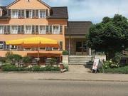 In der Backstube der Bäckerei Gschwend, in Mörschwil, wird schon bald ein Café errichtet. (Bild: Flavia Borrer)