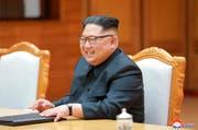 Nordkoreas Diktator Kim Jong-Un. (AP)