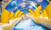 Die Riesen-Wasserrutsche kommt wieder nach Luzern. (Symbolbild: PD/BOOSTR)