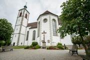 Die katholische Kirche St.Ulrich in Kreuzlingen. Nachts werden die Glocken zur Viertelstunde nicht mehr läuten. (Bild Reto Martin)