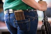 Die Schützen sehen die Zukunft des Schiesssports in Gefahr. (Bild: Luca Linder)