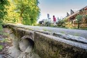 Der Bruggwaldparkbach führt selten Wasser. Dennoch wird er umgeleitet und offengelegt. (Bild: Urs Bucher)
