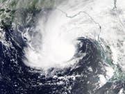 """Der erste Hurrikan der Saison """"Alberto"""" hat in den USA zwei Todesopfer gefordert. (Bild: KEYSTONE/EPA NASA WORLDVIEW/NASA WORLDVIEW / HANDOUT)"""
