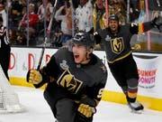 Matchwinner der Vegas Golden Knights im ersten NHL-Finalspiel gegen die Washington Capitals: der tschechische Flügel Tomas Nosek (Bild: KEYSTONE/AP Las Vegas Sun/STEVE MARCUS)