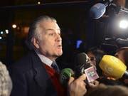 Der Ex-Schatzmeister von spanischer Regierungspartei, Luis Bárcenas, wurde inhaftiert, weil er unter anderem Millionengelder in der Schweiz versteckt hat. (Bild: KEYSTONE/EPA EFE/FERNANDO VILLAR)