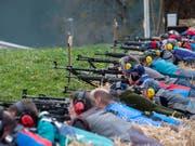 Die EU hat ihr Waffenrecht verschärft, die Schweiz muss nachziehen. Der Widerstand ist gross. Schützenorganisationen haben das Referendum angekündigt. (Bild: KEYSTONE/ALEXANDRA WEY)