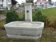 Das Objekt, um den sich der Streit dreht: Ein Brunnen aus dem Jahr 1871. (Bild: PD)
