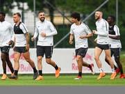 Die Salzburger bereiten sich auf das Rückspiel gegen Marseille vor (Bild: KEYSTONE/EPA/ANDREAS SCHAAD)