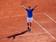 Jubelt er im Juli auch in Gstaad? Der dreifache Grand-Slam-Champion Stan Wawrinka hat sich für das J. Safra Sarasin Swiss Open eingeschrieben (Bild: KEYSTONE/AP/CHRISTOPHE ENA)