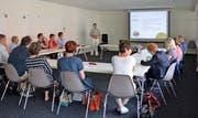Gewerbetreibende aus Altdorf nahmen an einem Workshop teil, um die Zukunft gezielt anzugehen. (Bild PD, Altdorf, Mai 2018)