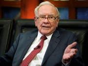 US-Investor Warren Buffett wollte offenbar mit über drei Milliarden Dollar beim Fahrdienst Uber einsteigen. (Bild: KEYSTONE/AP/NATI HARNIK)
