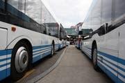 Ab dem Fahrplanwechsel im Dezember werden in Wil noch mehr Stadtbusse unterwegs sein. (Bild: Simon Dudle)
