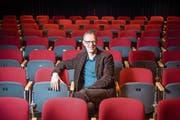 Thomas Spieckermann im Theater. (Bild: Urs Bucher (Schaan, 22.12.2015))
