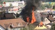 Drei Parteien aus der gleichen Familie verloren beim Brand am 22.April ihr ganzes Hab und Gut. Der Schock ist noch nicht ganz verarbeitet. (Bild: tvo)