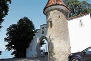 Das Schloss Wartensee ist bei Brautpaaren gefragt: Hier gibt es dieses Jahr 55 Hochzeiten. (Bild: Rebecca Frei)