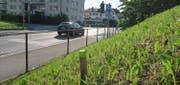 Die Kreuzung Horwer-/Arsenalstrasse/Lauerzweg. Bild: Gemeinde Kriens