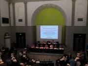 Ein Blick in die Synode der Schlussabstimmung zum Personalgesetz. Bild: Stefanie Nopper (Luzern, 30. Mai 2018)