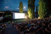 Ab dem 9. Juli werden wieder Filme unter freiem Himmel am Zugerseeufer gezeigt. (Bild: Stefan Kaiser (Zug, 17. August 2016))