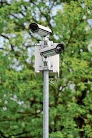 Videokameras zur Überwachung, wie hier in Frauenfeld, werden im Thurgau immer häufiger installiert. (Bild: Reto Martin)