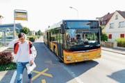 Die Linie 211 von Steinach nach St.Gallen wird künftig via Horn und Tübach auch durch Mörschwil fahren. (Bild: Rudolf Hirtl)