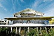 Aussenansicht des Wellnesshotels Golf Panorama in Lipperswil. (Bild Donato Caspari)