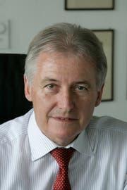 Max R. Hungerbühler. (Michel Canonica)
