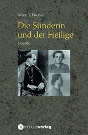 """Das Buchcover von """"Die Sünderin und der Heilige""""."""