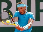 Rafael Nadal liess in der 2. Runde nichts anbrennen (Bild: KEYSTONE/AP/MICHEL EULER)