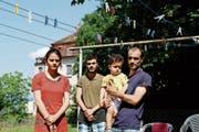 Das Asylgesuch der kurdischen Familie wurde abgelehnt. Sie muss zurück in den Irak. (Bild: Rossella Blattmann)