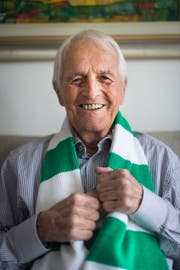 Vor rund einem halben Jahr verstorben: Stadionvater Hans Hurni. (Benjamin Manser)