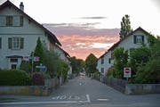 Diese Arbeitersiedlung an der Thurfeldstrasse in Weinfelden möchten die Initianten retten. (Bild: Mario Testa)