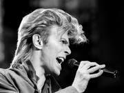 Das Montreux Jazz Festival 2018 widmet dem verstorbenen Musiker David Bowie eine Ausstellung. Im Mittelpunkt steht dessen Alter Ego Ziggy Stardust. (Bild: Keystone/AP PA/=)