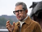 US-Schauspieler Jeff Goldblum hat einen Plattenvertrag unterschrieben. Sein erstes Jazz-Album ist in Planung. (Bild: Keystone/EPA/ANDY RAIN)